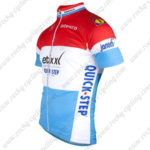 2016 Team etixxl QUICK STEP Cycling Jersey Maillot Shirt Red White Blue