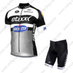 2016 Team etixxl QUICK STEP Cycling Kit White Black