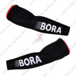 2016 Team BORA ARGON 18 Cycling Arm Warmers Sleeves Black