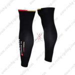 2016 Team BORA ARGON 18 Cycling Leg Warmers Sleeves Black