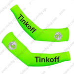 2016 Team Tinkoff Racing Arm Warmers Sleeves Fluo Green