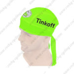 2016 Team Tinkoff Riding Bandana Head Scarf Fluo Green