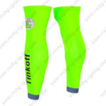 2016 Team Tinkoff Riding Leg Warmers Sleeves Fluo Green
