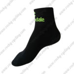 2016 Team Cannondale Cycling Socks Black Green