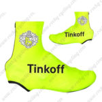 2016 Team Tinkoff Biking Shoes Covers Fluo Yellow