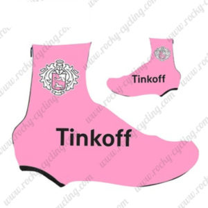 2016 Team Tinkoff Biking Shoes Covers Pink