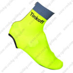 2016 Team Tinkoff Cycling Shoes Cover Fluo Yellow