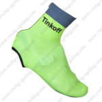 2016 Team Tinkoff Cycling Shoes Cover Light Green