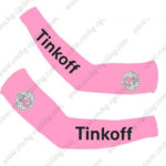 2016 Team Tinkoff Racing Arm Warmers Sleeves Pink