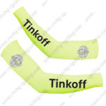 2016 Team Tinkoff Racing Arm Warmers Sleeves Yellow