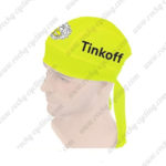 2016 Team Tinkoff Riding Bandana Head Scarf Fluo Yellow