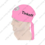 2016 Team Tinkoff Riding Bandana Head Scarf Pink