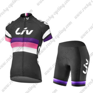 2017 Liv Womens Ladies Riding Kit Black Purple Pink