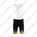 2017 Team Cannondale drapac Cycling Bib Shorts Bottoms Green Red Black