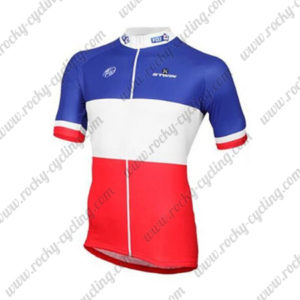 2017 Team FDJ France Bike Jersey Maillot Shirt