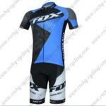 2017 Team FOX Cycling Kit Black Blue