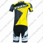 2017 Team FOX Cycling Kit Black Yellow