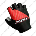 2017 Team FOX Riding Gloves Mitts Black Red