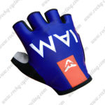 2017 Team IAM Riding Gloves Mitts Blue