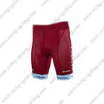 2017 Team KATUSHA Bike Shorts Bottoms Red