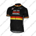 2017 Team LOTTO SOUDAL Germany Cycle Jersey Maillot Shirt Black