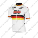 2017 Team LOTTO SOUDAL Germany Cycle Jersey Maillot Shirt White