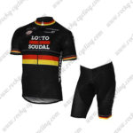 2017 Team LOTTO SOUDAL Germany Cycle Kit Black