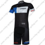 2017 Team ORBEA Cycling Kit Black Blue White