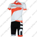 2017 Team PINARELLO Cycling Kit White Red
