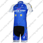 2017 Team QUICK STEP Cycling Kit Blue White