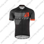 2017 Team SCOTT Cycle Jersey Maillot Shirt Black Red