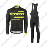 2017 Team SCOTT Riding Long Bib Suit Black Yellow2017 Team SCOTT Riding Long Bib Suit Black Yellow