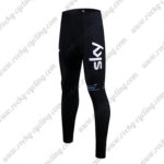 2017 Team SKY Castelli Bicycle Long Pants Tights Black