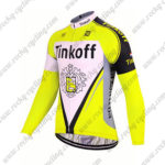 2017 Team Tinkoff Cycle Long Jersey Maillot Yellow