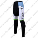 2017 Team Tinkoff Cycle Long Pants Tights Green