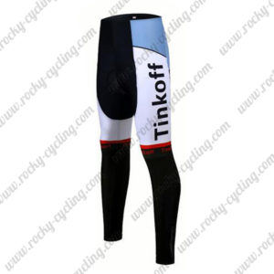 2017 Team Tinkoff Cycle Long Pants Tights Red