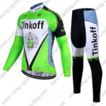 2017 Team Tinkoff Cycle Long Suit Green