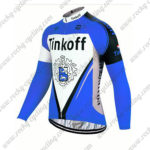 2017 Team Tinkoff Riding Long Jersey Maillot Blue