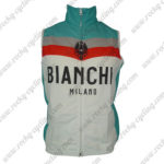 2013 Team BIANCHI MILANO Cycling Vest Sleeveless Waistcoat Rain-proof Windbreak White