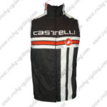 2013 Team Castelli Cycling Vest Sleeveless Waistcoat Rain-proof Windbreak Black