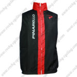 2014 Team PINARELLO Cycling Vest Sleeveless Waistcoat Rain-proof Windbreak Black Red