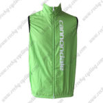 2015 Team Cannondale Bicycle Vest Sleeveless Waistcoat Rain-proof Windbreak Green
