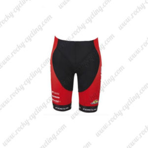 2016 Team FOCUS Bicycle Shorts Bottoms Red Black