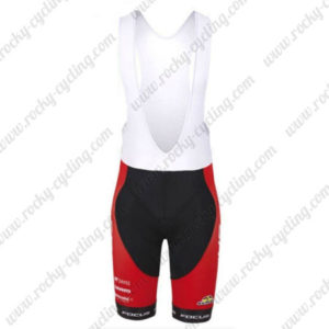 2016 Team FOCUS Cycling Bib Shorts Bottoms Red Black