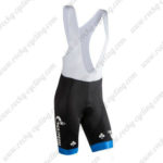 2016 Team GAZPROM COLNAGO Riding Bib Shorts Bottoms Black Blue