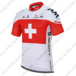 2016 Team IAM Switzerland Cycling Jersey Maillot Shirt White Red