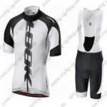2016 Team LOOK Cycling Bib Kit White Black