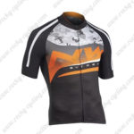 2016 Team NW Northwave Bicycle Jersey Maillot Black Orange Grey