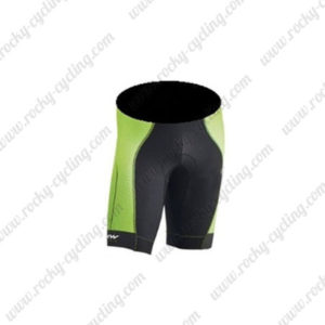 2016 Team NW Northwave Bike Shorts Bottoms Green