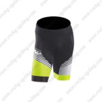 2016 Team NW Northwave Bike Shorts Bottoms Light Green Black